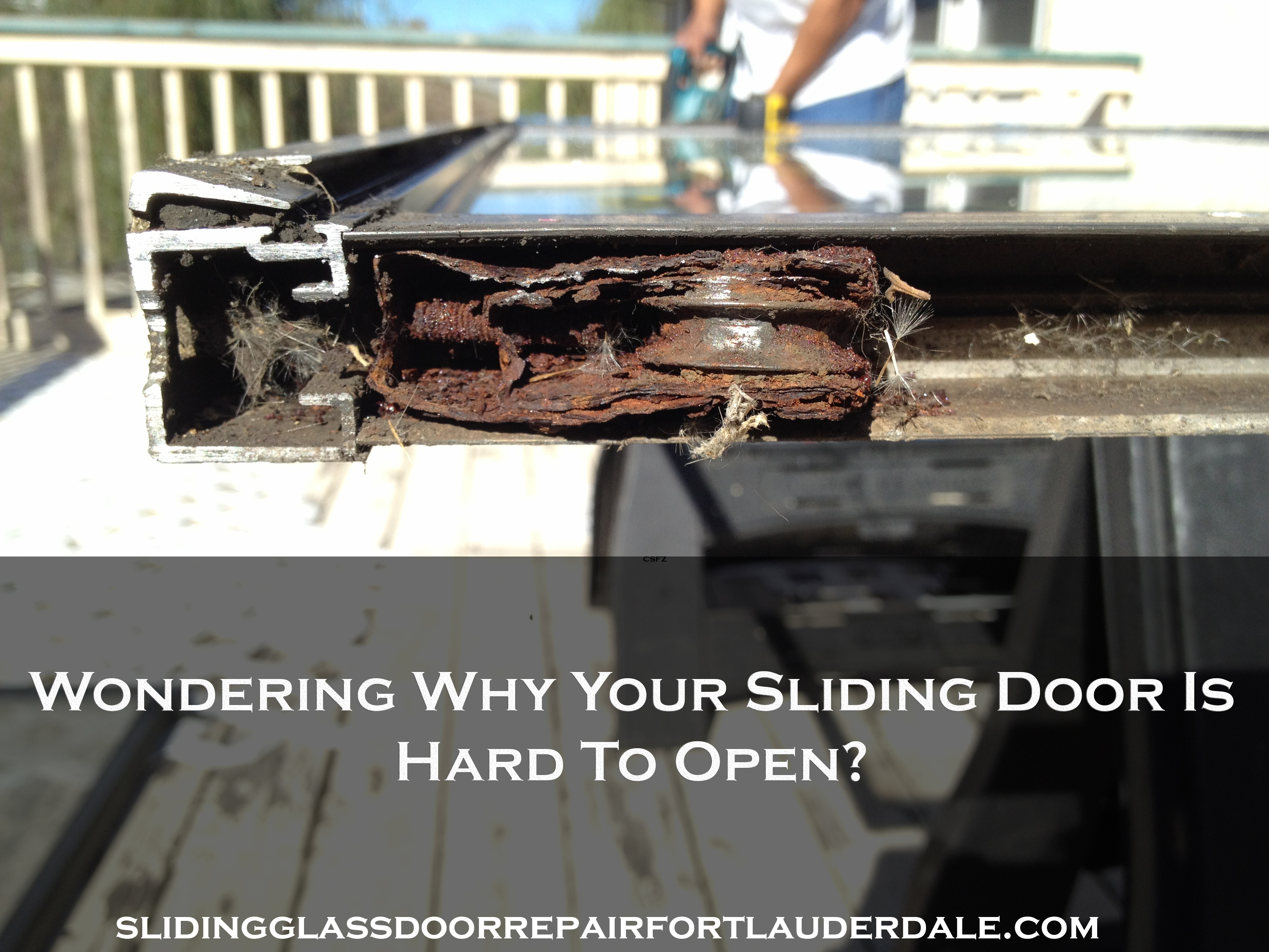 sliding glass door repair fort lauderdale fl